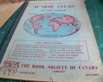 the book society junior atlas of the world