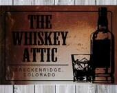 Whiskey Attic Sign - Custom
