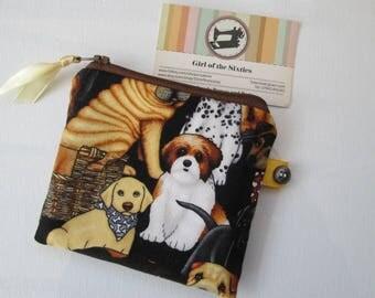 Dogs  purse