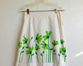 70s Vested Gentress mini skirt skort size small NWT