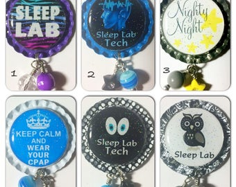 TOP Only**Sleep Lab Badge Reels Tops  *PICK one*