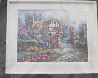 Wiltshire Garden, Crewel Embroidery Kit, Unopened Package