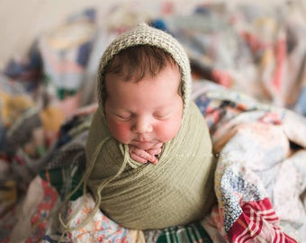 PICK any 2 Newborn Wraps, Baby Wraps Cheesecloth Wraps Photography Prop, Newborn Photo Prop - Extra Long