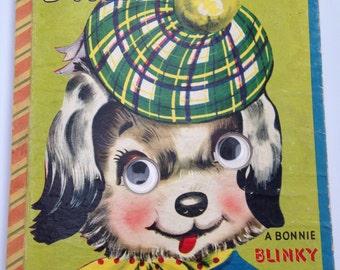 Bonnie Blinky Books Danny Dog and Katy Cat Vintage 1950