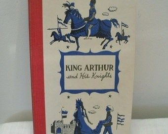 Vintage Junior Deluxe King Arthur and His Knights Book