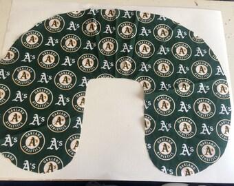 Oakland A's Baby - Boppy Cover- Boppy slipcover,Nursing pillow cover, boppy pillow cover, baby shower, gift