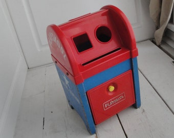 Vintage Playskool Postal Station Mail Box
