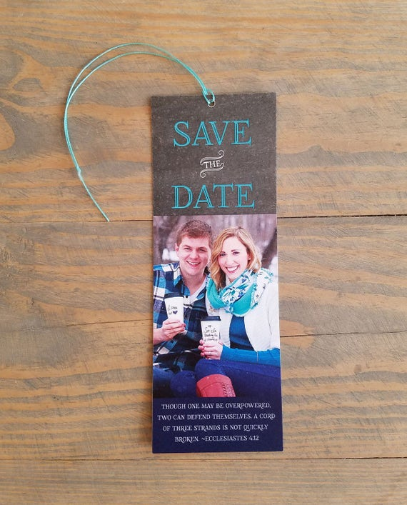 save the date bookmark, bookmark save the date, save the date, save the dates, bookmark, bookmark invitation, blush, mint, bookmark, silver