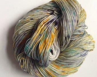 Sock Yarn - Hand Dyed - Lake Effect - Merino