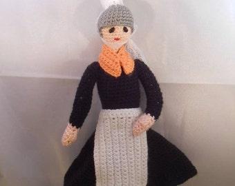 Tutoriel Bigouden Bigoudène Bretagne explications tuto patron au crochet en français amigurumi pattern