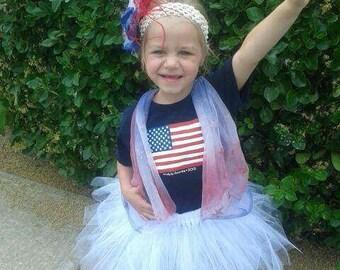 Patriotic princess tutu