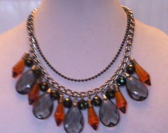 Unique- Crystal Statement Necklace