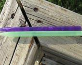 Reserved Custom Acrylic Hair Sticks - 6 1/4 inches (15.875 cm) No 634