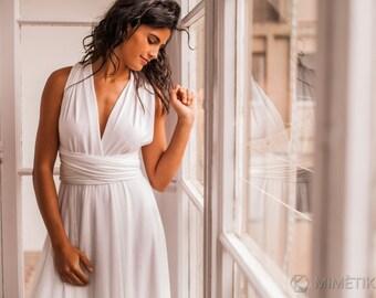 Garden wedding dress with tulle, romantic garden wedding dress, white wedding dress with tulle, country wedding dresses, informal wedding