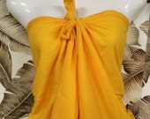 PAREU full length ILIMA Golden Yellow