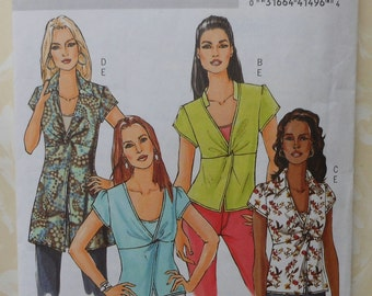 Top and Camisole Sewing Pattern UNCUT Butterick B4986 Sizes 8-14