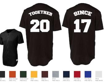 Baseball jersey | Etsy