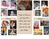 Custom order for Faith, Photo transfer on wood - pictures transferred on wood, photo transfer on wood, wood collage, wooden picture puzzle