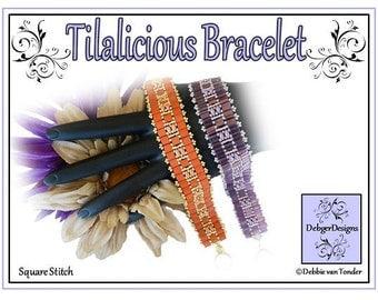 Tila Beading Pattern, Tutorial, Bracelet - TILALICIOUS