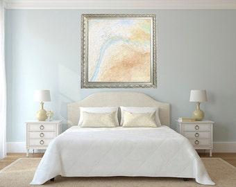 Minimalistic Impasto - fine art print, wall decor, home decor, office decor, dorm decor, baby nursery art, bedroom, housewarming