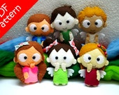 Angels 6 IN 1 Plush PDF Pattern - Instant Digital Download