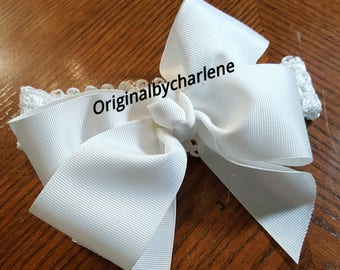 Boutique Choice of Color Grosgrain Hairbow