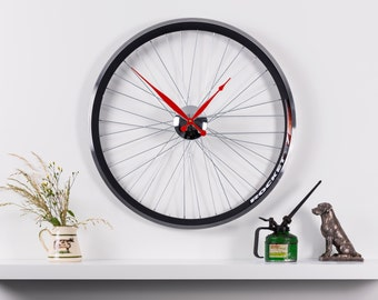 Racing Bike wheel clock 22 inch diameter