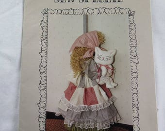 Sewing pattern, Broom Cover, Fabric Doll, Uncut Pattern, Sewing Fabric Pattern