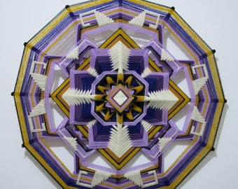 Peace Within, a 20 inch, wool yarn, Ojo de Dios,     IN Stock