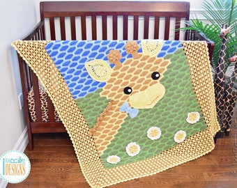 NEW PATTERN Rusty the Giraffe Blanket PDF Crochet Pattern with Instant Download
