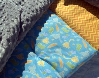 DINOSAURS Platinum Personalized Nap Mat, Day Care Nap Mat, Boutique Nap Mat, Thickest Machine Washable Napmat