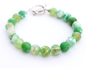 Green Bracelet for Her