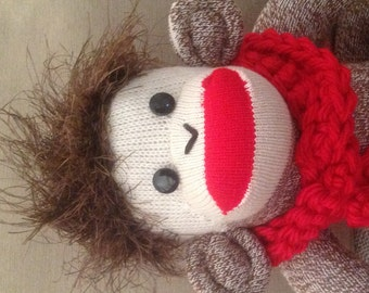 Rockford Red Heel Sock Monkey, made by hand in the USA.