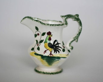 vintage rooster cream pitcher made in japan
