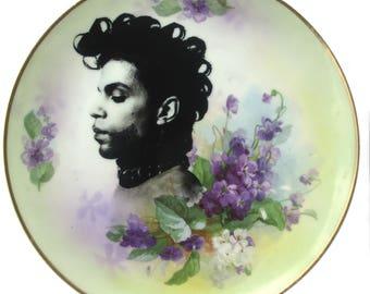 "Prince Portrait Plate 8.5"""