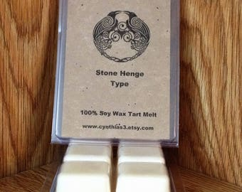 Stonehenge  (Type) Soy Wax Tart Melts 6-Pack Clamshell - Extra Strength