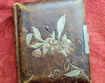 Victorian Leather CDV, Tintype Album - Empty - 5 x 6