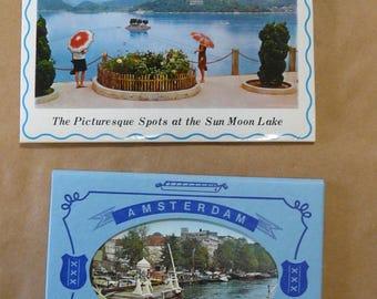Vintage postcards Amsterdam Taiwan