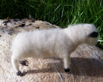 Handmade Sheep Folk Art