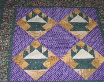 Table topper or Quilt Wall hanging