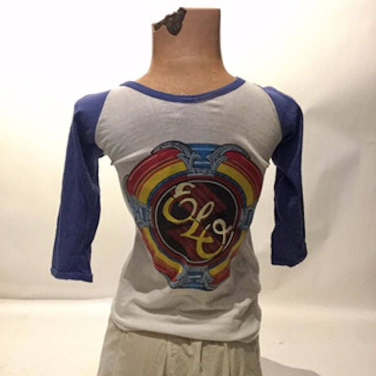 Vintage Bootleg Electric Light Orchestra Raglan Tee Shirt Men's  Small (TS-3)
