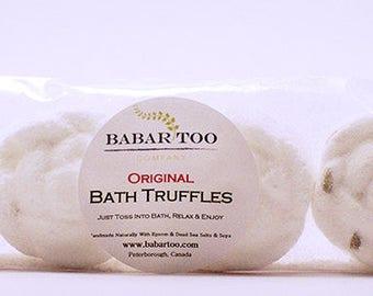 Natural Bath Truffles