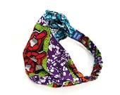 Yoga Headband - SMALL Women's Workout Headband, REVERSIBLE, Fitness Headband, Running Headband, Non-Slip Headband - Wide Headband
