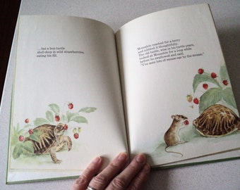 Mousekin Finds a Friend Children's Book by Edna Miller 1960s Nature, Woodland Animals