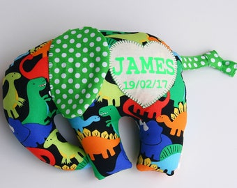 Personalised elephant stuffed animal - plushie - soft elephant toy - personalised baby gift - creative baby shower gift - baby boy - newbaby
