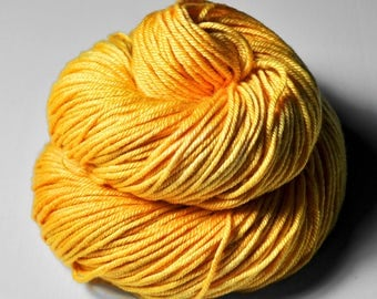 Searing hot summer sun - Silk/Merino DK Yarn superwash