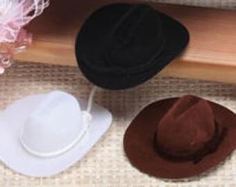 Miniture Felt Cowboy Hats