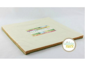 Bella Solids Warm for Moda Quilts- 1 Layer Cake
