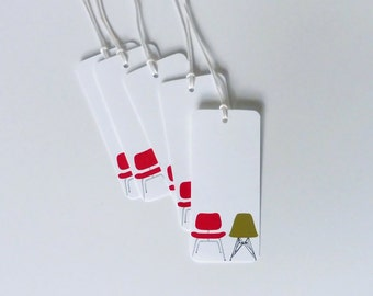 Eames Chairs Hangtags