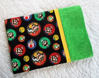 Super Mario Full Size  Pillow Case